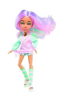Кукла SnapStar Lola 23 см. с аксессуарами, подставкой и зелёным экраном, кор. с окошком 13х7х26 см.