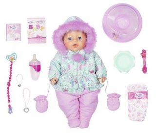 Кукла BABY born интерактивная Зимняя, 43 см, кор.