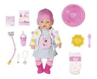 Кукла BABY born Интерактивная Стильная Весна, 43 см, кор.