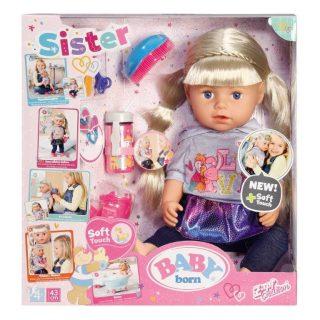 Кукла BABY born Сестричка, блондинка, 43 см, кор.