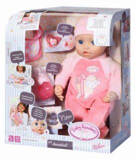 Кукла-девочка Baby Annabell многофункциональная, 43 см