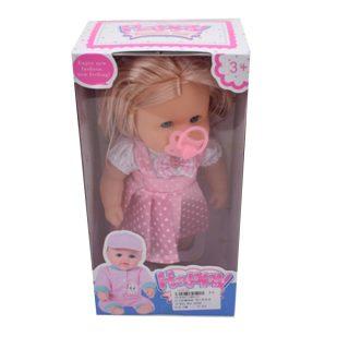 Кукла 30 см, звук, в компл. 1 аксесс., эл.пит.AG13*2шт.  вх.в компл.,кор.