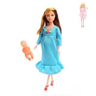 Кукла Будущая мама с малышом, в ассорт., пакет