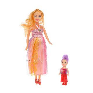 Набор кукол 2 шт Мама и дочка
