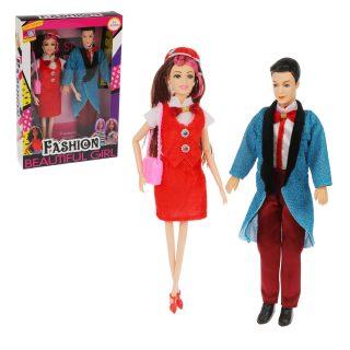 Набор кукол 29 см, 2 шт.,  кор.