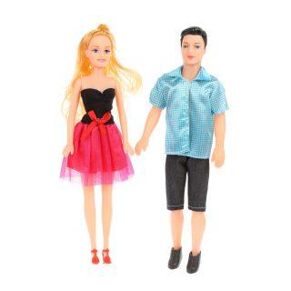Набор кукол, 2 шт, 28 см