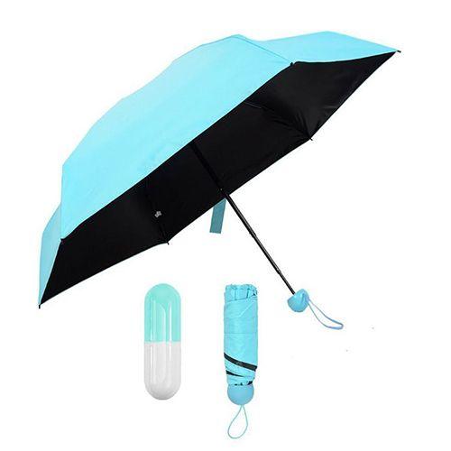 Карманный зонт в футляре Капсула
