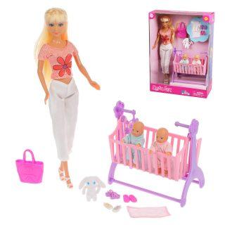 Кукла Defa Lucy. Набор: ?Счастливая семья?. 3 куклы, 8 аксессуаров, в ассорт.