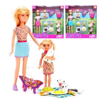 Набор кукол Defa Lucy Пикник 2 шт, аксесс.9 предм., в ассорт.