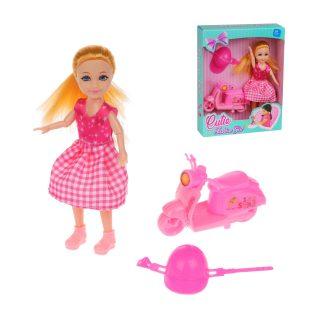Кукла 18 см с набором аксесс., кор., в ассортименте