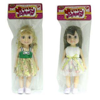 Кукла Джемми 25 см весенняя, в ассорт., пакет