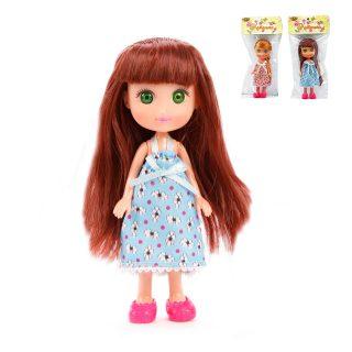 Кукла Катенька в сарафане, пакет. 16,5 см.