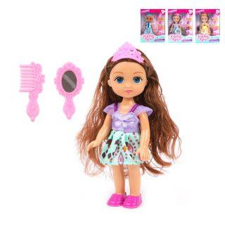 Куколка-принцесса Kaibibi 15,2 см, 4 аксесс., в ассорт., кор.