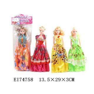 Кукла 28см, пакет, в ассортименте
