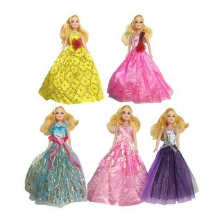 Кукла в нарядном платье, в ассорт., пакет