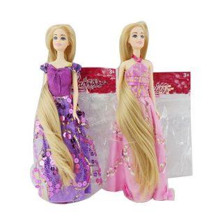 Кукла с длинными волосами, в ассорт., пакет