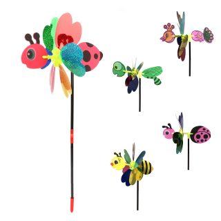 Вертушка на цветочке 38 см, голограмма