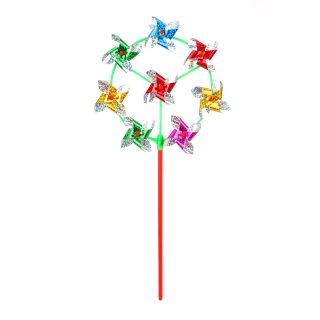 Вертушка Цветик 8 в 1, голограмма, 46 см