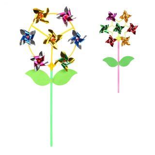 Вертушка Цветик с листочками 7 в 1, 43 см