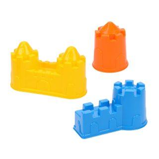 Формочки (замок башня, замок стена с двумя башнями, замок мост) в асс-те
