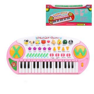 Синтезатор 32 клавиши,  демо, запись, звуки животн., батар. AA*4шт. не вх.в компл.