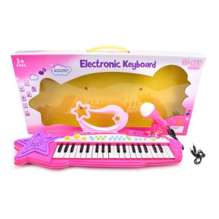 Синтезатор Little Star 37 клавиш, запись, микрофон, MP3, эл.пит. 3АА не вх.в комплект