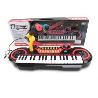 Синтезатор детский 37 кл., микрофон, запись, эл.пит. АА*4 не вх.в компл.
