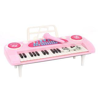 Синтезатор роз., 37 клавиш, микрофон, запись, инструкция, батар.AA*4шт. в компл.не вх., кор.