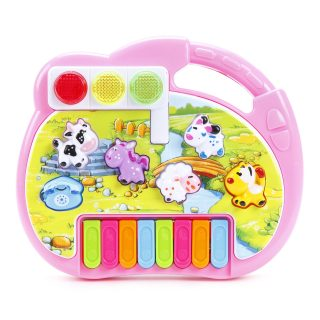 Пианино дет.Е-Нотка , свет, звук, обучение, батар.не вх.в компл.
