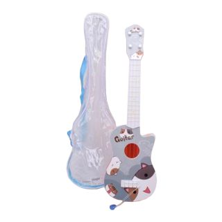 Гитара пластиковая Мурзик 4 струны, чехол