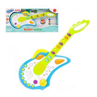 Гитара э/ф свет, звук, регулир.громк., эл.пит. АА*3 не вх.в комплект, кор.