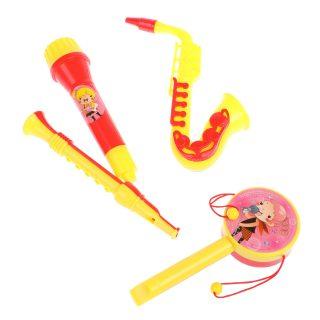 Набор инструментов с саксофоном, 4 предм., пакет