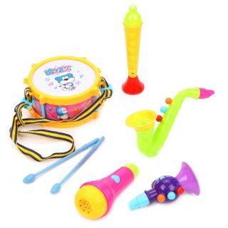Набор музык.инструментов 5 предметов, пакет