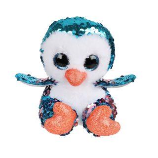 Игрушка из пайеток Пингвиненок 15см