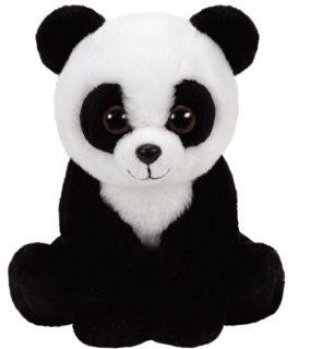 Мягкая игрушка Бабу панда черно-белый 15 см.