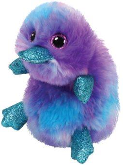 Мягкая игрушка Заппи утконос фиолетовый 15 см.