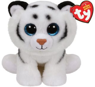 Мягкая игрушка Тундра тигр белый 15 см.