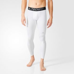 Компрессионные брюки adidas Techfit Base Tights белые