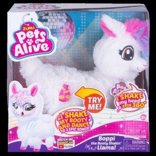 Интерактивная игрушка Pets Alive Танцующая Лама, кор.