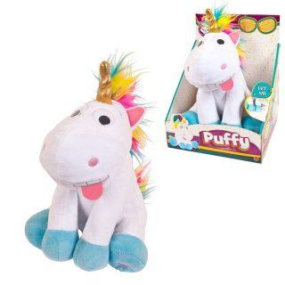 Интерактивная игрушка Единорог Puffy, со звуковыми эффектами