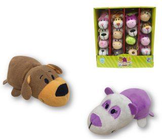 Мягкая игрушка Вывернушка 12 см 2в1 Собачка-Панда