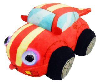 Мягкая игрушка Дразнюка-БИБИ Гоночная Машинка15см