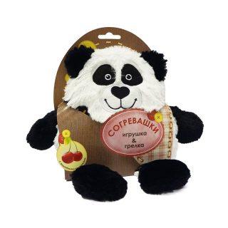 Игрушка-грелка Панда 19 см
