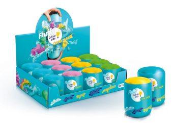 Пластилин воздушный для детской лепки Fluffy