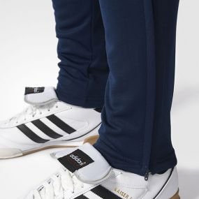 Футбольные штаны adidas Tiro 17 Training Pants сине-чёрные