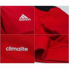 Спортивная кофта adidas Tiro 17 Sweat Top красная