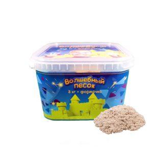 Набор Волшебный песок Классический 3 кг и формочка