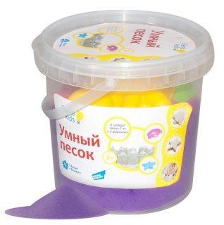 Набор для творч. Умный песок Фиолетовый 1 кг