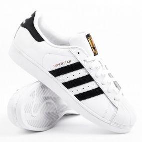 Кеды adidas Superstar Junior белые