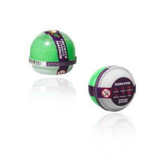 Жвачка для рук Nano gum, светится зеленым , 25 гр.